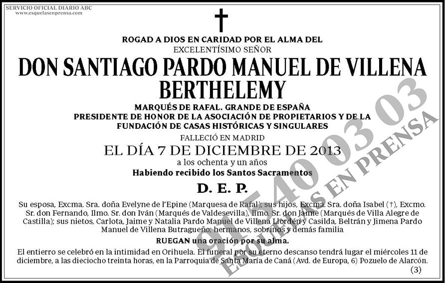 Santiago Pardo Manuel de Villena